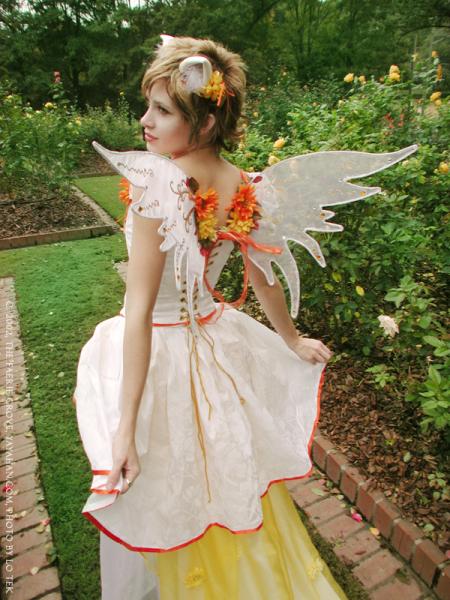Sunflower Faerie Wings & Ears